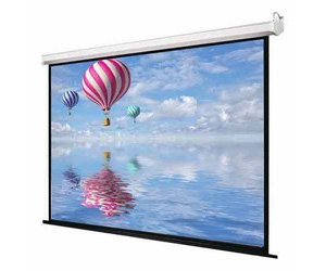Automated motorised projection screen